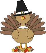 free-turkey-clipart-turkey-pilgirm-in-autumn-leaves