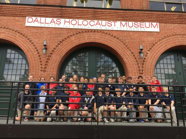 Middle school field trip to the Holocaust Museum.
