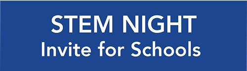 STEM invite for Schools