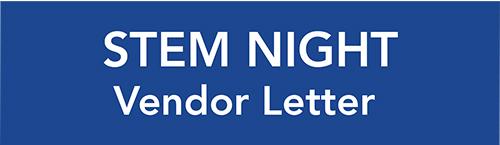 STEM Vendor Letter